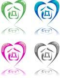 Eco heart Stock Photos