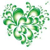 Eco Heart symbol Royalty Free Stock Photo