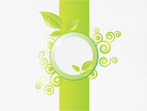 Eco Hintergrund stock abbildung