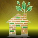 Eco home Stock Photos