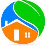 Eco home Royalty Free Stock Image