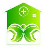 ECO HOME CARE PEOPLE Royalty Free Stock Images