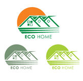 Eco home. Royalty Free Stock Images