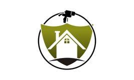 Eco Home Insulation. Logo Design Template Vector Stock Photo