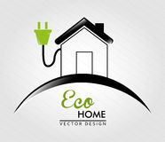 Eco home Stock Photo