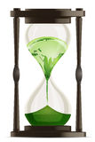 Eco hour watch Stock Image
