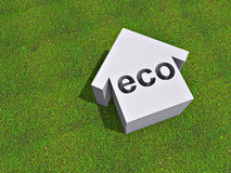 Eco house Royalty Free Stock Image