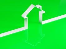 Eco house Stock Photo