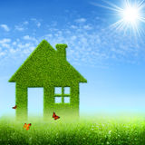 Eco House. Stock Images