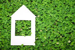 Eco house concept. For design Royalty Free Stock Photography
