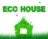 Eco house Stock Image