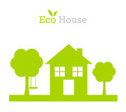 Eco house Stock Photography