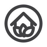 Eco House Logo Stock Photo