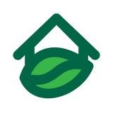 Eco House Logo Stock Photos