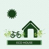 Eco house Royalty Free Stock Photos