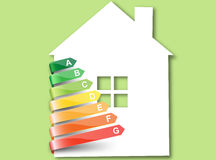 Eco house.Vector. royalty free illustration