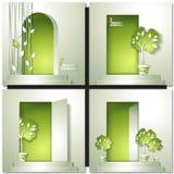 Eco House Vector Stock Photography