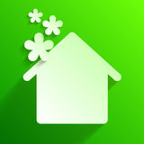 Eco House Royalty Free Stock Images