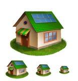 Eco hus Royaltyfri Fotografi