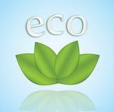 Eco icon royalty free stock image