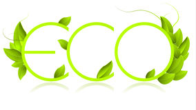 Eco icon Stock Photography