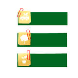 Eco icon ad tag ribbon banner, vector illustration eps10 004 Royalty Free Stock Photography