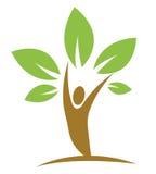 Eco icon design Stock Images
