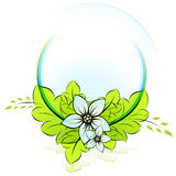 ECO icon eps10 Royalty Free Stock Images