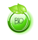 Eco icon green illustration Royalty Free Stock Photo