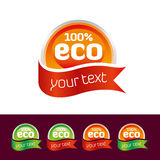 Eco Icon Set. Naturalness and icon design can be used in organic work Stock Photo