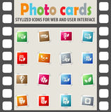 Eco icon set. Eco web icons for user interface design Royalty Free Stock Photo