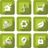 ECO icon sets design Stock Photo