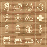 Eco icon sign set vector set Stock Photography
