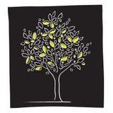 Eco - icona dell'albero Immagini Stock