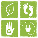Eco icons Royalty Free Stock Photo