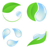 Eco icons Royalty Free Stock Photo