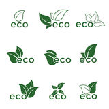 Eco icons Royalty Free Stock Image