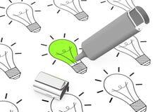 The eco idea Stock Photo