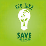 Eco idea Stock Photography