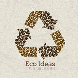 Eco ideas Royalty Free Stock Images