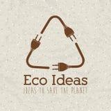 Eco ideas Stock Image