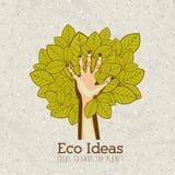 Eco ideas Royalty Free Stock Photos