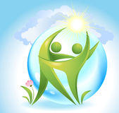 Eco-Ikone Lizenzfreie Stockbilder