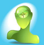 Eco-Ikone Lizenzfreies Stockbild