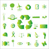 Eco Ikonen Stockfotografie