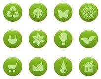 Eco Ikonen stock abbildung