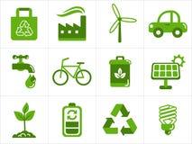 Eco Ikonen Stockbilder