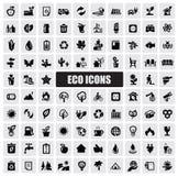 Eco Ikonen Lizenzfreies Stockbild