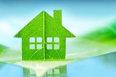Eco ikony domowy pojęcie Obrazy Royalty Free