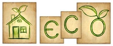Eco illustration Stock Photo